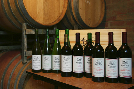 Warramate Vintages